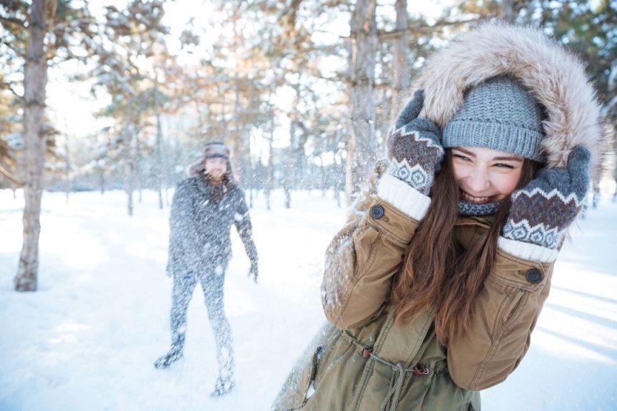 Куда сходить с девушкой на свидание зимой