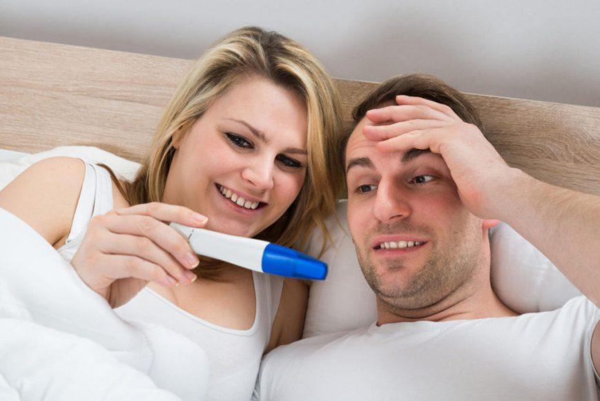 Как прикольно сообщить мужу о беременности